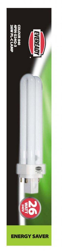 Eveready Energy Saver Bulb 26W Single 4 Pin