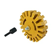 ABN Decal Eraser Wheel Pinstripe Removal Kit