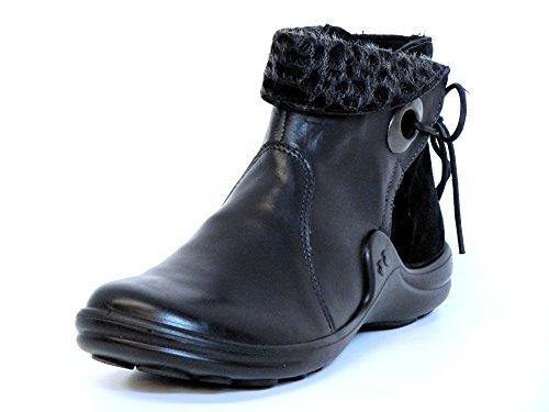 Romika Mujeres botines negro, (schwarz) 1021441/100