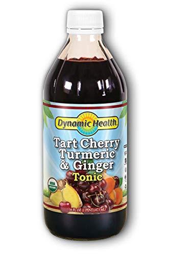 - Dynamic Health Tart Cherry Turmeric & Ginger Tonic Organic - 16 oz (Pack of 3)