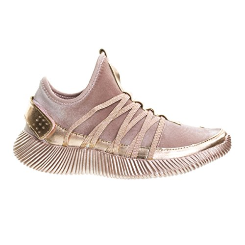 Evigt Länkar Kvinnor Remy-18 Glitter Sneakers | Mode Sneakers | Glittriga Skor För Kvinnor 4rosegold