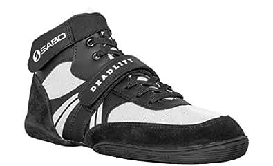 SABO Deadlift Shoes (40 RUS / 8 - 8.5 US, White)