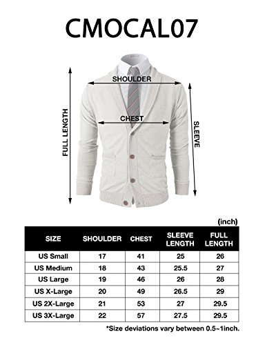 H2H Mens Casual Slim Fit V-Neck Button-Front Shawl Collar Vest With Pockets BLACK US S/Asia M (CMOCAL07)