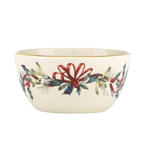 Lenox Small Bowl - Lenox Winter Greetings Bowl,Ivory