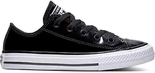 89d275d2af8a Converse Chuck Taylor All Star Patented 90s Ox Black Synthetic Patent Youth  Trainers