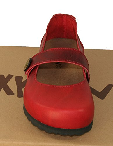 Oxygen Hastings Footbed Shoe Red AKLfH94