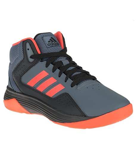 Adidas Kids Boy's Cloudfoam Ilation (Little Kid/Big Kid) Onix/Bright Red/Core Black Athletic Shoe