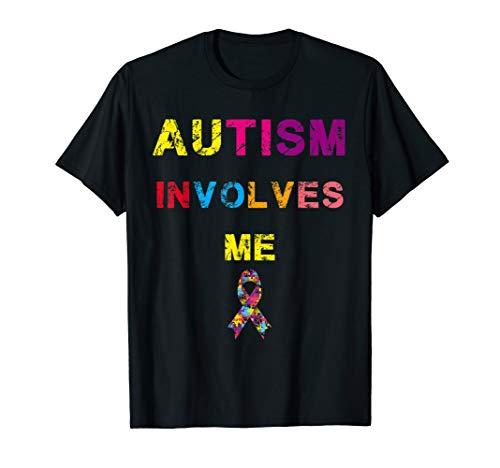 autism involves me shirt autism awarness day april -