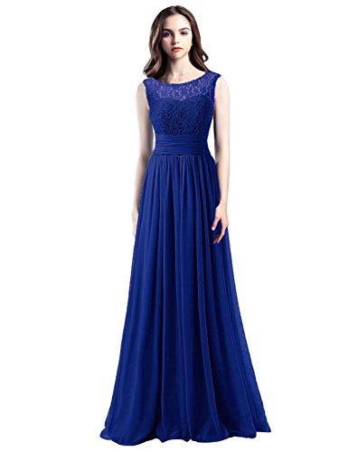 Long Beaded Prom Ball Women Xrk180308 for Blue Formal House Dresses Belle royal Gown Dresses Bridesmaid vqzCFSn