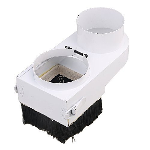 Mxfans CNC Router Engraving Spindle Dust Shoe Cover Woodworking Cleaner 100mm by Mxfans