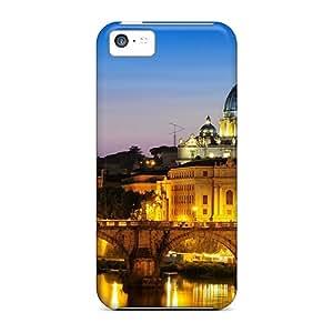 Excellent Design Roma Italia Phone Case For Iphone 5c Premium Tpu Case
