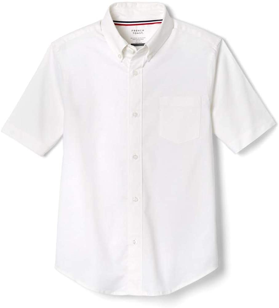 B00914CVEO French Toast Boys White Short Sleeves Oxford Shirt - E9003 - White, 12 41z5eNbQEGL