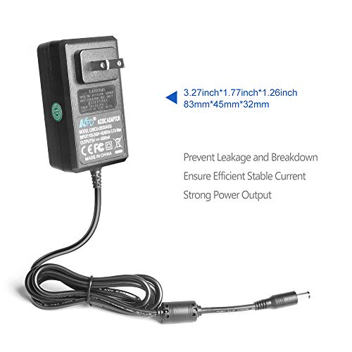 "KFD Universal AC DC Adapter for Nextbook-Ares 11, 11A, Flexx 10 10.1"", 11.6"", 9 8.9"" 2 in 1 Tablet Nextbook Premium 7 7S 7SE 8 HD 8SE 9;Raspberry Pi 3 2;5V Wireless Bluetooth Speaker;Graco Swings"