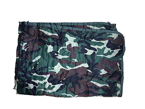 Herrlof Military Poncho Liner Woobie Outdoor Blanket for picnics, Camping and shelter. ()