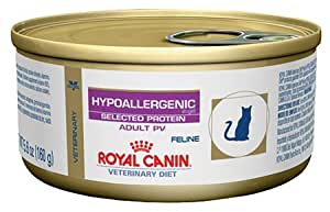 Amazon.com : Royal Canin Veterinary Diet Feline Hypoallergenic Potato & Venison (PV) Formula ...