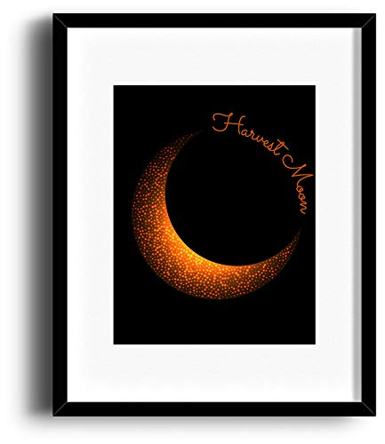 Harvest Moon by Neil Young - Song Lyric Poster Music Visual Art Decor - Framed Matted Options - Harvest Moon Artwork