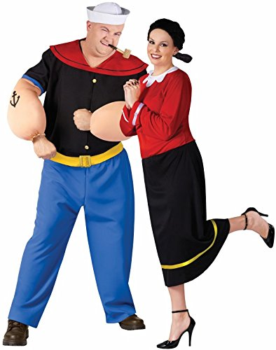 Olive Oyl Adult Costume - Plus Size 1X/2X -