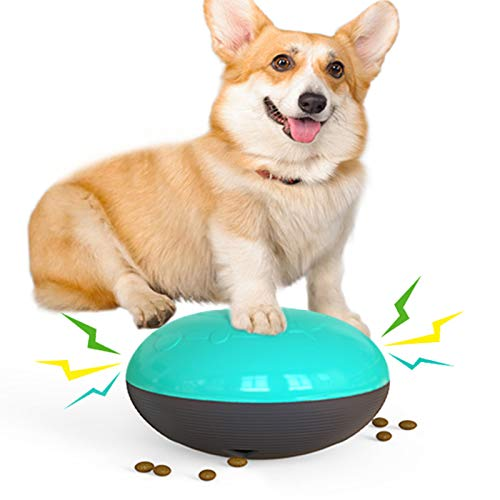 USWT Sliding Gliding Squeaky Dog Toys Puppy Toy Dogs Supplies Food Dispenser Safe for Indoor Play Durable Bite-Resistant New Material