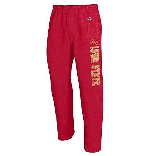 Elite Fan Shop Iowa State Cyclones Sweatpants Pockets Cardinal - XL (Iowa State Pocket)