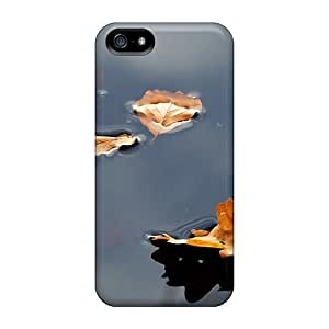 Fashionable GQHnSTk3990iLlqz Iphone 5/5s Case Cover For Leaves On Water Protective Case