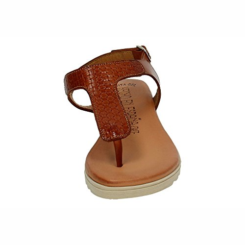 106 Sandales Cuir Made In Spain Femme EqEn60Ax