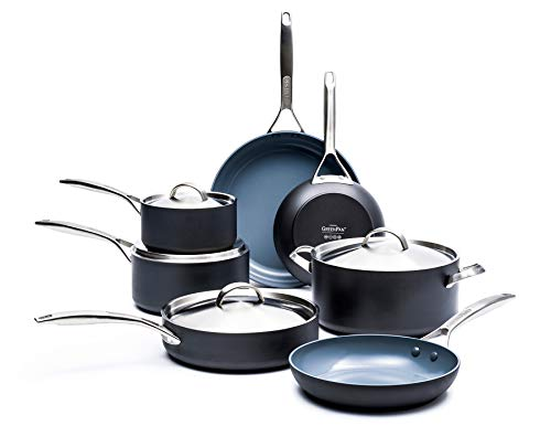 GreenPan Paris Pro 11pc Ceramic Non-Stick Cookware Set