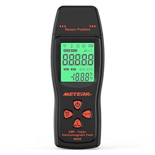 Meterk Electromagnetic Radiation Detector Dosimeter