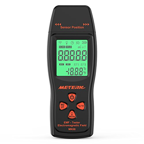 Meterk Electromagnetic Radiation Detector Dosimeter product image
