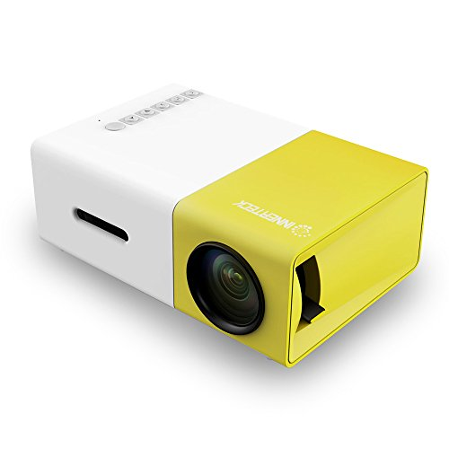 Mini Projector - InnerTeck Portable LED Projector Home Cinema Theater with Laptop (Beam Projector)