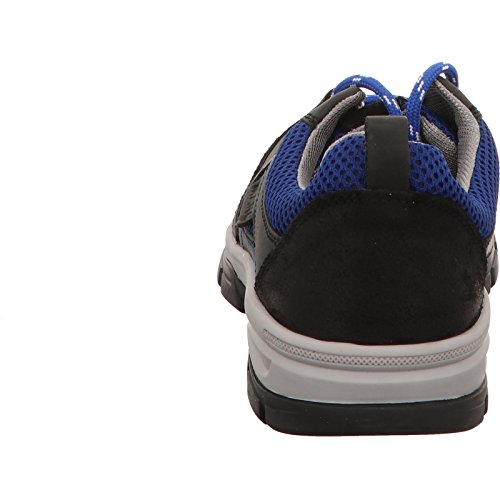 MARC Whistler - Zapatillas de senderismo de Piel para hombre Negro negro