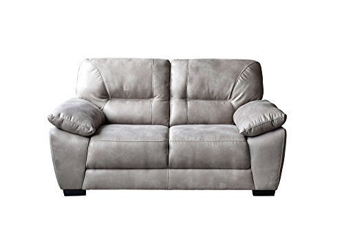 Avanti Taupe Soft-Touch Fabric Loveseat by Diamond Sofa - # AVANTILOTA by Diamond Furniture