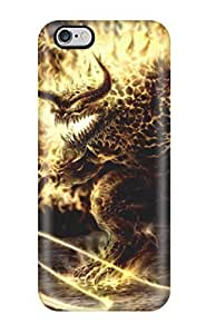 Anti-scratch And Shatterproof Demon Phone Case For Iphone 6 Plus/ High Quality Tpu Case