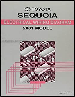 2001 toyota sequoia wiring diagram manual original: toyota: amazon com:  books