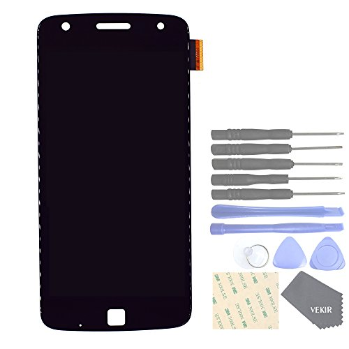 (VEKIR Display and Touch Assembly Screen for Motorola Moto Z Play Droid XT1635-02 XT1635-01(Black)[Confirm Your Model is Moto Z Play])