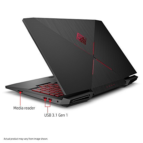 HP OMEN 15-CE015DX 15.6'' Gaming Laptop, Intel Core i7-7700HQ/2.80G Quad-Core, 1TB 7200RPM+128GB PCIE MR, 8GB, 802.11ac, BT,WEBCAM NVIDIA-GEFORCEGTX1050TI, W10H 64-Bit (Certified Refurbished) by HP