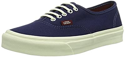Vans Pop Authentic Slim Patriot Blue/Cordovan Men's 5