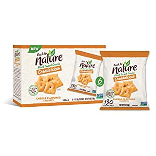 Back to Nature Crackers, Crispy Cheddars, 1 Ounce, 8 Count