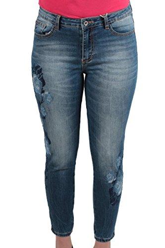 Hailys - Jeans - Femme Bleu denim