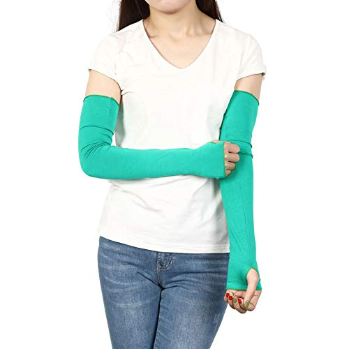- Sheeper Womens Summer Arm Sleeves Sun UV Protection Female Arm Cover For Outdoor Sports Baseball Driving Cycling Running Fishing Clambing Green