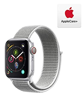 AppleWatch Series4 (GPS+Cellular, 40mm) - Silver Aluminum Case with Seashell Sport Loop with AppleCare+ Bundle (B07RJ1GSPD) | Amazon price tracker / tracking, Amazon price history charts, Amazon price watches, Amazon price drop alerts