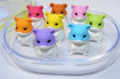 瓜生岩子日本消しゴムin a Mini弁当ボックス–Hamsters