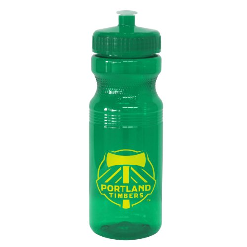 MLS Portland Timbers 24-Ounce Squeeze Water Bottle