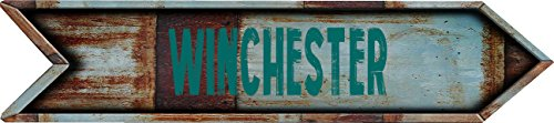 Any and All Graphics Winchester City Vintage Rustic look Arrow shaped 8