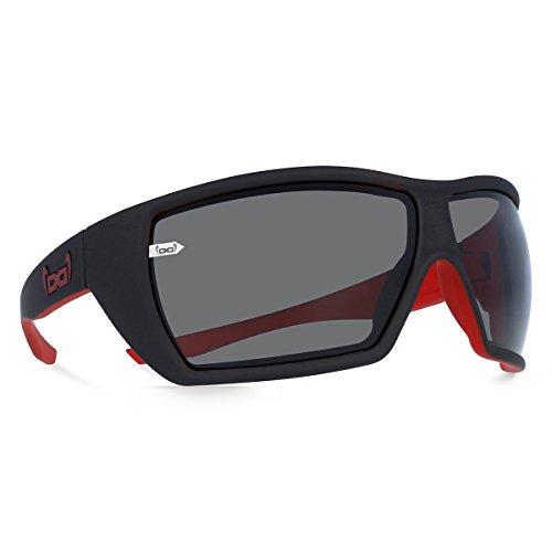 gloryfy unbreakable eyewear Sonnenbrille G12 devil red, schwarz rot