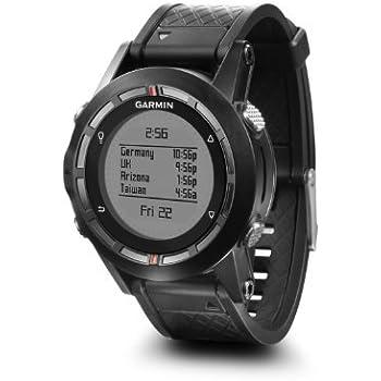 Garmin Fenix GPS Watch Fitness Tracker for Smartphone, Black (Certified Refurbished)