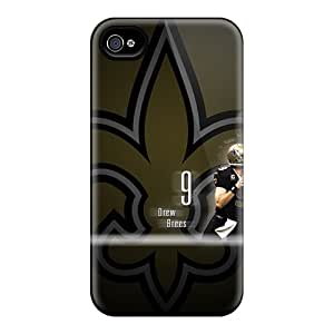 Scratch Protection Hard Phone Case For Iphone 6plus (dMk6121yYHg) Unique Design Attractive New Orleans Saints Image