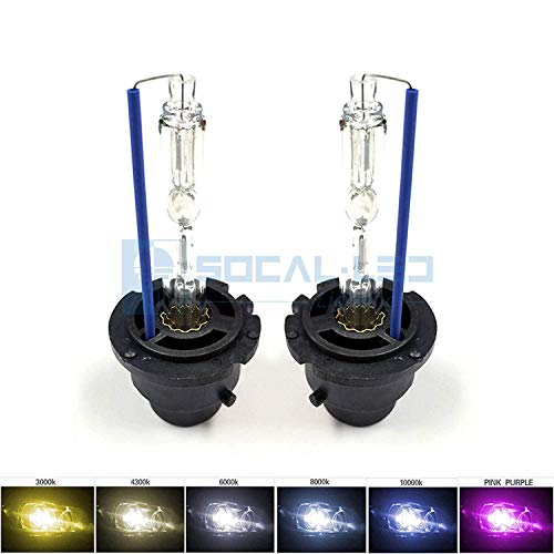 SOCAL-LED 2x D2S HID Bulbs 35W AC Factory Xenon HID Headlight Direct Replacement 10000K Deep -