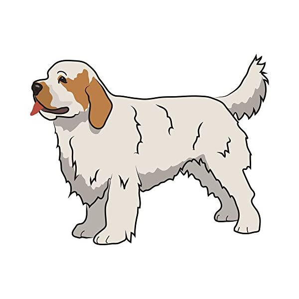 """Clumber Spaniel Street Sign 