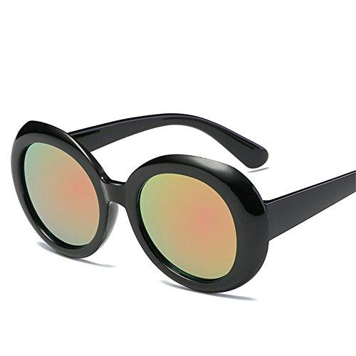 60mm mode et lunettes D rétro cadre de Amérique 143 150 soleil unisexe Lunettes NIFG Europe de ovale soleil qC4a4w