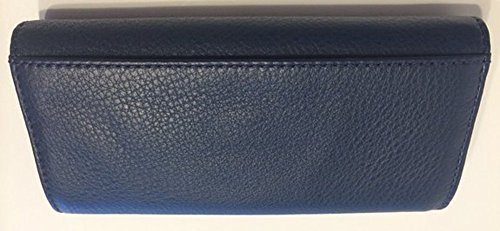 523592eb6db4 Michael Kors Fulton Flap Continental Leather Clutch Wallet in - Import ...